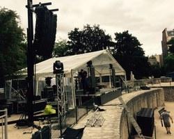 MK Prod & Event - Ezanville - Sonorisation de l'arène de Lutèce
