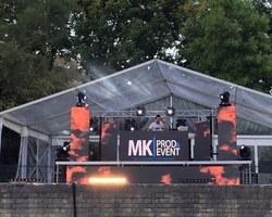 MK Prod & Event - Ezanville - Mur de LED A l'arène de Lutèce